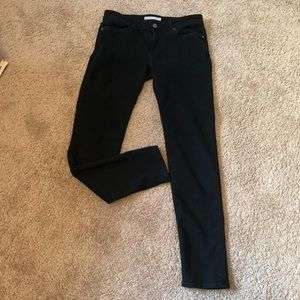 Joie black mid rise skinny jeans size 28